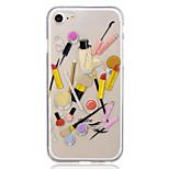 Для яблока iphone 7 плюс 7 косметики корпус корпуса задняя крышка чехол мягкий tpu iphone 6s плюс 6 плюс 6s 6 5 5s se