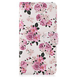 Case For Huawei P10 Lite P8 Lite (2017) Case Cover The Flowers Pattern PU Leather Cases for Huawei P9 Lite Mate 9 Y625 Changxiang5