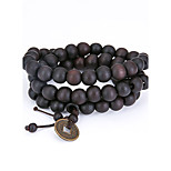 Men's Strand Bracelet Jewelry Natural Fashion Wood Irregular Jewelry For Special Occasion Gift 1pc