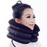 3 слоя lint надувной воздух портативный шейный позвонок шеи головы скоба поддержка тяга воротник массажер здравоохранение