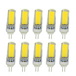 10 PCS 4W G9 Decoration Light T  COB 300-350LM  Warm White/ Cool White  AC110V/220 V