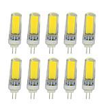 4W Luces LED de Doble Pin T COB 350-400 lm Blanco Cálido Blanco V 10