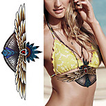 1Pcs New  Waterproof WINGS Under Breast Tattoo Sexy Women Tattoo