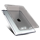 147 Case Cover Transparent Back Cover Case Solid Color Soft TPU for Apple iPad 4/3/2