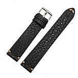 For Huawei Watch Band Strap Solid color Genuine Leather  Sport Band
