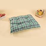 Bed Pet Mats & Pads Plaid/Check Ruby Green Blue