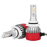 9006 36w / 2шт светодиодный фонарик комплект лампочки csp чип 3600lm 6500k привели автомобиль лампочки преобразования комплект 9v-32v