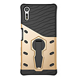 For Sony Xperia X compact Xperia XZ Case Cover 360 Degrees Rotate Armor Combo Drop Armor Phone Case Xperia E5