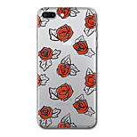 Для iphone 7 плюс 7 чехол чехол прозрачный узор задняя крышка чехол плитка цветок мягкий tpu для iphone 6s плюс 6s 6 плюс 6 5s 5 se