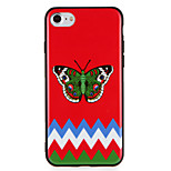 Случай для яблока iphone7 7 плюс шаблон бабочки жесткий ПК для iphone 6s плюс 6 плюс 6s 6