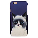 For Apple iPhone 7 7Plus Case Cover Pattern Back Cover Case Cat Hard PC 6s Plus  6 Plus 6s 6 5s 5
