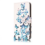For Huawei P10 Lite P10 Case Cover Card Holder Wallet Full Body Case Butterfly Hard PU Leather for P9 Lite P8 Lite P8 Lite2017