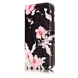 For Huawei P10 Lite P10 Case Cover Card Holder Wallet Full Body Case Flower Hard PU Leather for P9 Lite P8 Lite P8 Lite2017