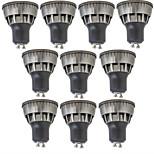 3W Точечное LED освещение 1 COB 320 lm Тёплый белый Холодный белый Декоративная V 10 шт.