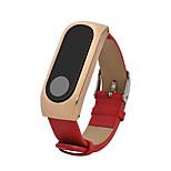 Roestvast staal Echt Leer Leren lus Voor Xiaomi Horloge
