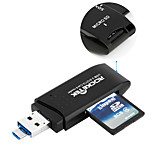 Rocketek USB 3.0 Memory Card Reader and OTG phone card reader 2 Slots Card Reader for SD micro SD SDXC SDHC free shipping CR9