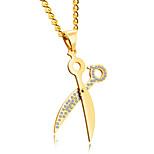 Муж. Ожерелья с подвесками Титановая сталь Малоуглеродистая сталь Массивные украшения Бижутерия НазначениеДля вечеринок День рождения