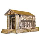 Пазлы Набор для творчества 3D пазлы Строительные блоки Игрушки своими руками Замок Архитектура
