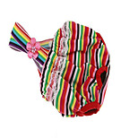 Собака Плащи Платья Одежда для собак Для вечеринки На каждый день Полоски полоса