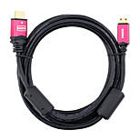 HDMI 1.4 Кабель, HDMI 1.4 to Mini HDMI Кабель Male - Male 3.0M (10Ft)
