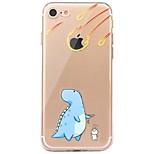 Hoesje voor iphone 7 6 cartoon tpu zachte ultra dunne achterhoes hoesje iphone 7 plus 6 6s plus se 5s 5 5c 4s 4