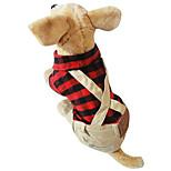 Собака Комбинезоны Упряжки Одежда для собак На каждый день Английский