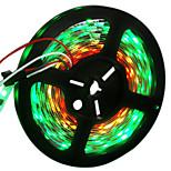 72W Гибкие светодиодные ленты 6950-7150 lm DC12 V 5 м 300 светодиоды RGB