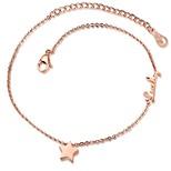 Жен. Ножной браслет/Браслеты Титановая сталь Мода В форме звезды Бижутерия НазначениеДля праздника / вечеринки На каждый день