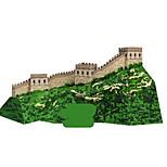 Пазлы Набор для творчества 3D пазлы Строительные блоки Игрушки своими руками Знаменитое здание Китайская архитектура Архитектура