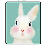 MR.VIV I Cute Animal Black Lock Edge Rabbit Rabbit Pad Pad Mats Pad 24 * 20 * 0.3cm