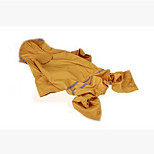 Dog Rain Coat Dog Clothes Casual/Daily Waterproof Solid Ruby Yellow