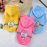 Dog Clothes/Jumpsuit Dog Clothes Cosplay Cartoon Blushing Pink Blue Yellow