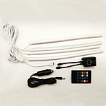 1Set 18*5050SMD Third Generation Car Sound and Remote Control RGB Lamp