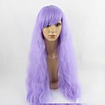 парик косплей синтетический Без шапочки-основы парики Средний Фиолетовый Волосы