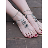 Women's Anklet/Bracelet Iron Alloy Vintage Jewelry For Dailywear Casual Outdoor clothing Going out