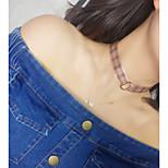 Жен. Ожерелья-бархатки Круглый Кружево Сплав Мода Euramerican Бижутерия Назначение Повседневные
