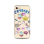 Чехол для iphone 7 плюс 7 крышка прозрачный узор задняя крышка чехол unicorn soft tpu для apple iphone 6s плюс 6 плюс 6s 6 se 5s 5c 5 4s 4