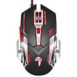 Игровая мышь 3200 dpi проводные программируемые 6 кнопок оптические мыши x5 с ярким дыханием