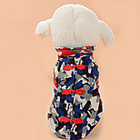 Dog Coat Dog Clothes Casual/Daily Bowknot Ruby Black