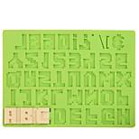 Cake Decoration Tools Number Letter Silicone Mold Fondant Mold Chocolate Fimo Clay Mold