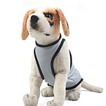 Dog Clothes/Jumpsuit Dog Clothes Casual/Daily Solid Blushing Pink Blue Gray