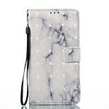 Samsung galaxy j3 (2017) j5 (2017) kotelon suojus valkoinen tuhka marmori kuvio 3d maalattu kortti stentin lompakko puhelimen kotelo