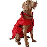 Собака Жилет Одежда для собак На каждый день Сплошной цвет Пурпурный Красный Синий