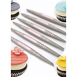 New Arrival Set of 6 Fondant Cake Sugar Soft Tip Shapers Modelling tool Cakes Cupcake Decorating Flower Modelling Craft Clays Tools