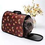 Кошка Собака Переезд и перевозные рюкзаки Животные Корпусы Компактность Дышащий В полоску Сова МультипликацияСиний Розовый Черный полоса