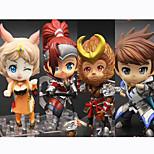 Аниме Фигурки Вдохновлен Косплей Косплей ПВХ 10 См Модель игрушки игрушки куклы