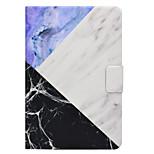 Taske til Samsung Galaxy Tab t580 t560 marmor mønster pu læder materiale flad beskyttelses cover case t550 t530 t350 t330 t280