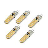 4.5W Двухштырьковые LED лампы T 30 SMD 2835 350-450 lm Тёплый белый Холодный белый V 1 шт.