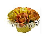 Пазлы Набор для творчества 3D пазлы Строительные блоки Игрушки своими руками Розы Цветы