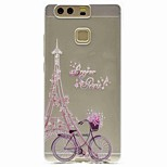 For Huawei P9 P9 Lite Pattern Case Back Cover Case Eiffel Tower Soft TPU for P8 P8 Lite Y5 II / Honor 5